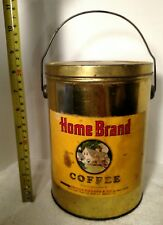 VINTAGE/RARE HOME BRAND 2 POUND COFFEE CAN