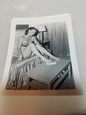 4 X 5 ORGINAL NEGATIVE PHOTO FROM IRVING KLAW ARCHIVES MODEL ROZ GREENWOOD RG #8