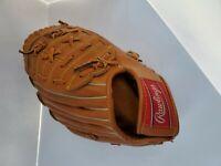Vintage Rawlings RBG135 RHT Baseball Glove Mitt Rickey Henderson Youth Used