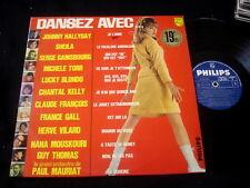 JOHNNY HALLYDAY/CLAUDE FRANCOIS/SHEILA/GAINSBOURG/DANSEZ AVEC/FRENCH PRESS BIEM