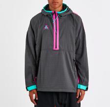 Men's Nike ACG Woven Hooded Jacket -Anthracite/Magenta/Jade-Reg $150-Sz XXL -NEW