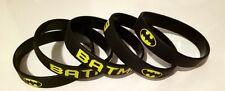 New 5x Batman Wristbands Superhero Bracelet Party Favours Loot Lolly Bag