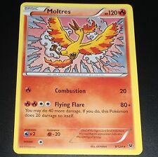 Moltres 9/124 XY Fates Collide NEAR MINT Rare Pokemon Card