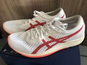 Asics METARACER TOKYO Running Shoes WHITE/SUNRISE RED 9