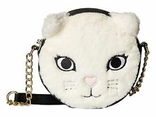 BETSEY JOHNSON FELINE Cat KITSCH Crossbody Bag LBFELINE NEW With Tag AUTHENTIC