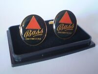 PAIR OF COLLECTABLE BASS BEER CUFFLINKS.....IDEAL SECRET SANTA GIFT
