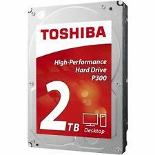 Disco Duro Interno HDD Toshiba 3.5 2TB 7200RPM 64MB SATA3 P300 HDWD120UZSVA