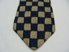 GAP - CHECK PATTERNED - VINTAGE - MADE IN USA - 100% SILK NECK TIE!