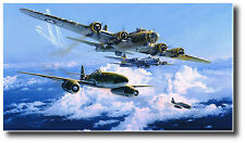 Combat Over the Reich by Robert Taylor - Me-262 & B-17's with FIVE extra Sigs -