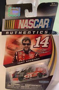 Spin Master NASCAR AUTHENTICS *#14 TONY STEWART (B)*  1:64  (SEALED) vintage
