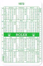 1973 1974 VINTAGE ROLEX GREEN CALENDAR 1016 6263 1665 5514 6265 1680 1655 1803