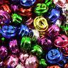 "10 20 50 - Big 20 mm 3/4"" Silver Mixed Gold jingle bells Charm Christmas Pendant"