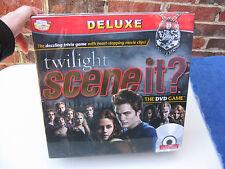 BRAND NEW & SEALED TWILIGHT SCENE IT? DELUXE DVD GAME Twilight Saga Trivia