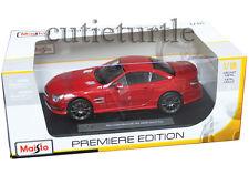 Maisto 2012 Mercedes Benz SL 63 Class AMG Hard Top 1:18 Diecast Red 36199