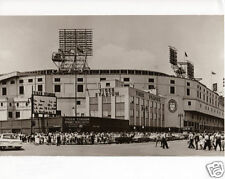 Classic Tiger Stadium Detroit Michigan 1960 Home of The Detroit Tigers Big Crowd
