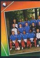 N°091 TEAM EQUIPE SQUADRA 1/2 # FRANCE STICKER VIGNETTE PANINI EURO 2004