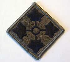 4th Infantry Division Patch Subdued