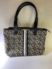 New TOMMY HILFIGER Large Tote Handbag  RN#77806 Excellent