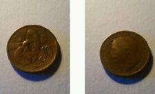 Moneta Regno d'Italia 10 centesimi 1920 Ape