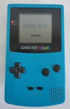 Nintendo TEAL GAME BOY COLOR HANDHELD VIDEO GAME SYSTEM AS IS