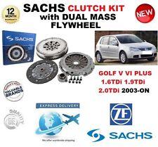 FOR VW GOLF V VI PLUS 1.6 1.9 2.0 TDi 2003-ON SACHS CLUTCH KIT with FLYWHEEL