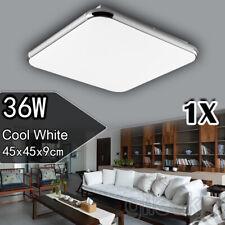 """1x 36W 18"""" Led Ceiling Light Pendant Fixture Cool White Modern Flush Mount Lamp"""