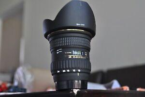 Tokina  AF 12-24mm F4 DX lens for Nikon D50,70,80,90,100,200,300,7000,7100,7200
