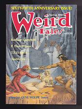 Weird Tales, Spring 1988 - Gene Wolfe, Ramsey Campbell, F Paul Wilson, Nice Copy