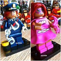 71017 THE LEGO BATMAN MOVIE Barbara Gordon & Pink Batgirl Minifigs SEALED Bundle