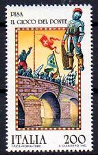 Italia 1803, posta freschi/**/ponti gioco in Pisa, folclore