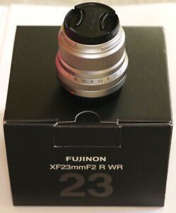 Fujinon XF 23mm f/2 R WR Lens
