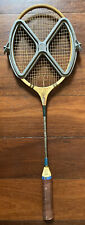 Vintage Spalding 'Winner' Wooden Head Metal Shaft Squash Racquet w/ Metal Frame