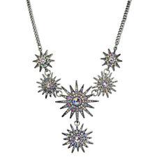 Kirks Folly Mystic Super Star Necklace (Antique Silvertone)