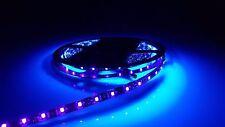 5 metros Púrpura Tira de Luz LED UV debajo de armarios Auto Adhesivo Impermeable IP65 12V