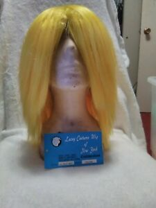 Shop~Lacey Yellow Deluxe Silly Boy Hair-Wig