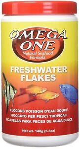 Omega One Tropical Flakes 5.3 oz