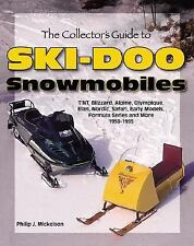 THE COLLECTOR'S GUIDE TO SKI-DOO SNOWMOBIL - PHILIP J. MICKELSON  10225