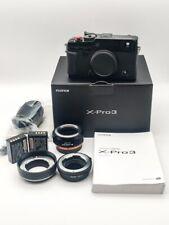 Fujifilm Fuji X-Pro3 26.1MP Mirrorless Digital Camera Body Only (Black) W/ EXTRA