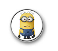 "MINIONS / 1"" / 25mm pin button / badge / Despicable Me / birthday party bag"