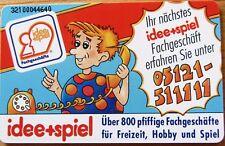 Telefonkarte BRD S 75 Idee + Spiel über 800  Fachgeschäfte 12 DM, SELTEN,  voll