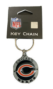 Pewter Keychain 3.5cm Chicago Bears