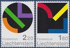 2001  LIECHTENSTEIN N°1222/1223 ** PEINTURE TABLEAU HONEGGER PAINTING MNH