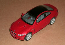 1/36 Scale BMW M3 Coupe Diecast Model Car Red 3-Series M E92 - Kinsmart KT5348