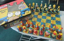 The Simpsons - 3D Chess Set Classic Edition Set - Collectable - Complete