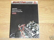 Burton Power Catalogue 2003 Cossie etc