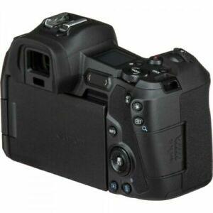 Canon EOS R 30.3 MP Mirrorless Digital Camera - with EF-EOS R Mount Adaptor