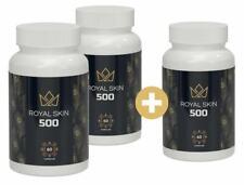 3x ROYAL SKIN 500 - Pillole anti acne bella pelle liscia senza brufoli ACNE STOP