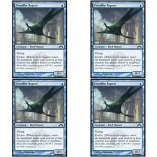 4 x CLOUDFIN RAPTOR NM mtg Gatecrash Blue - Bird Mutant Com