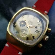 Men's Omega Gold-Capped Seamaster ref.176.005 Chronograph, c.1972 Vintage LA2RED