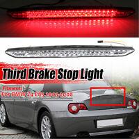 For BMW E85 Z4 2003-2008 CLEAR Lens LED Third Rear Brake Light Tail Lamp